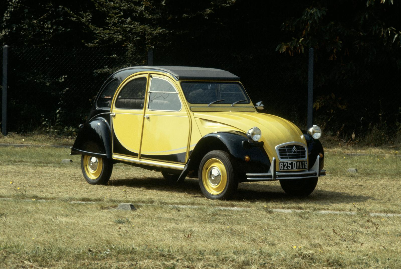 2CV Charleston Helios Yellow, 1982.