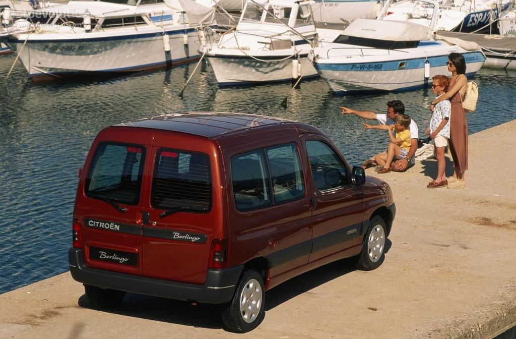 Peterosjed Berlingo SX, 1996.