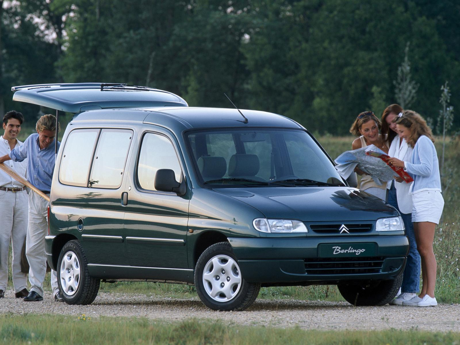 Berlingo Multispace, 1996.
