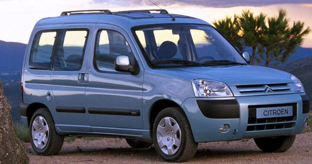 Redizajnirani Berlingo Multispace, 2002.