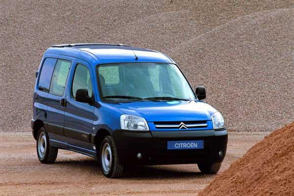 Berlingo VU, 2002., prethodnik modela Berlingo 2