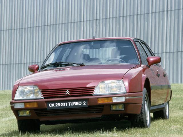 CX 25 GTI TURBO 2, 1986., prethodnik modela XM