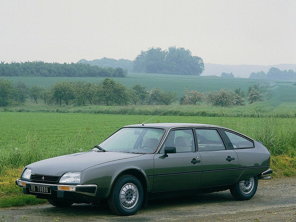 CX 25 RD Turbo, 1984.