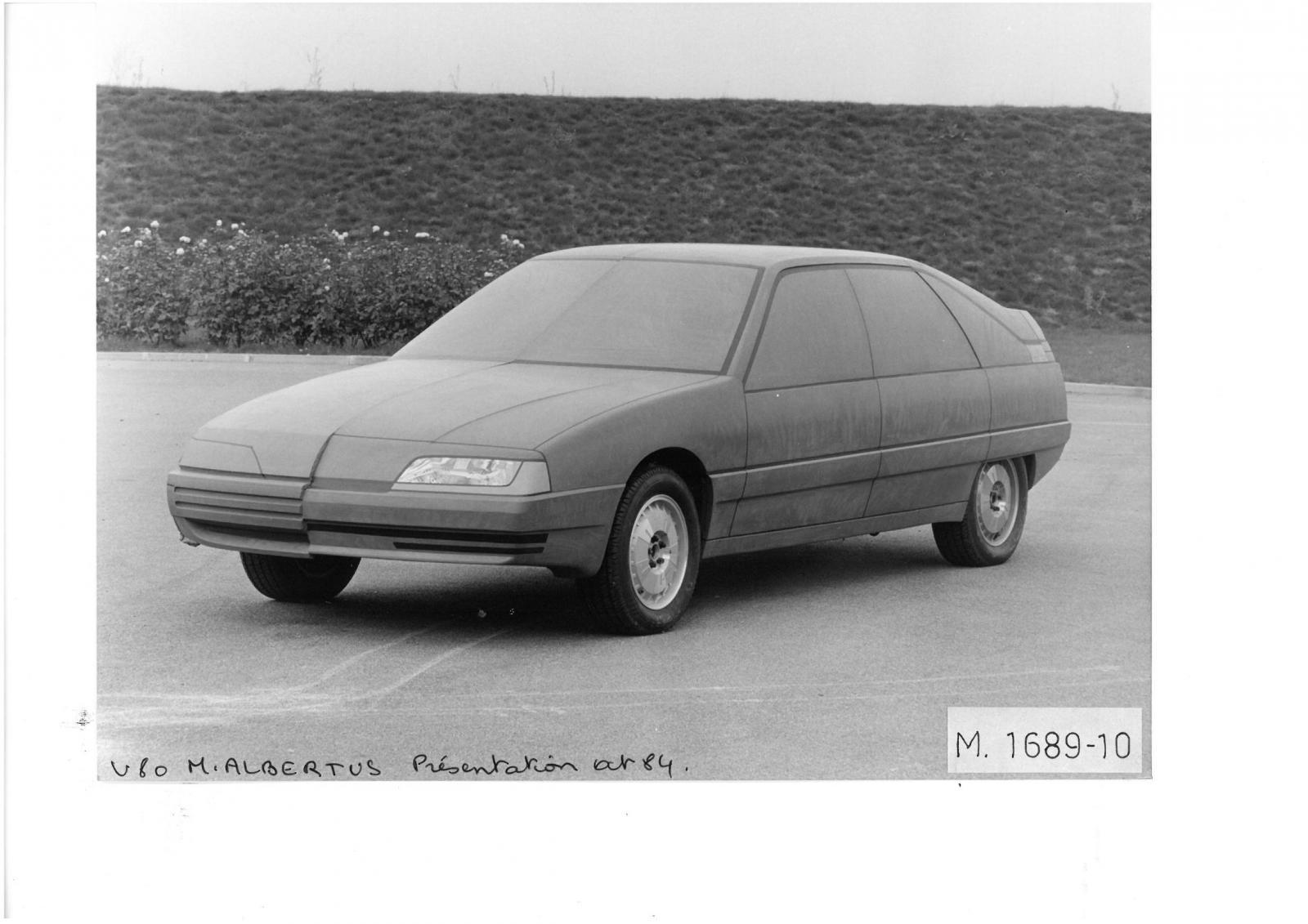 V80 Project by ALBERTUS, 1984.