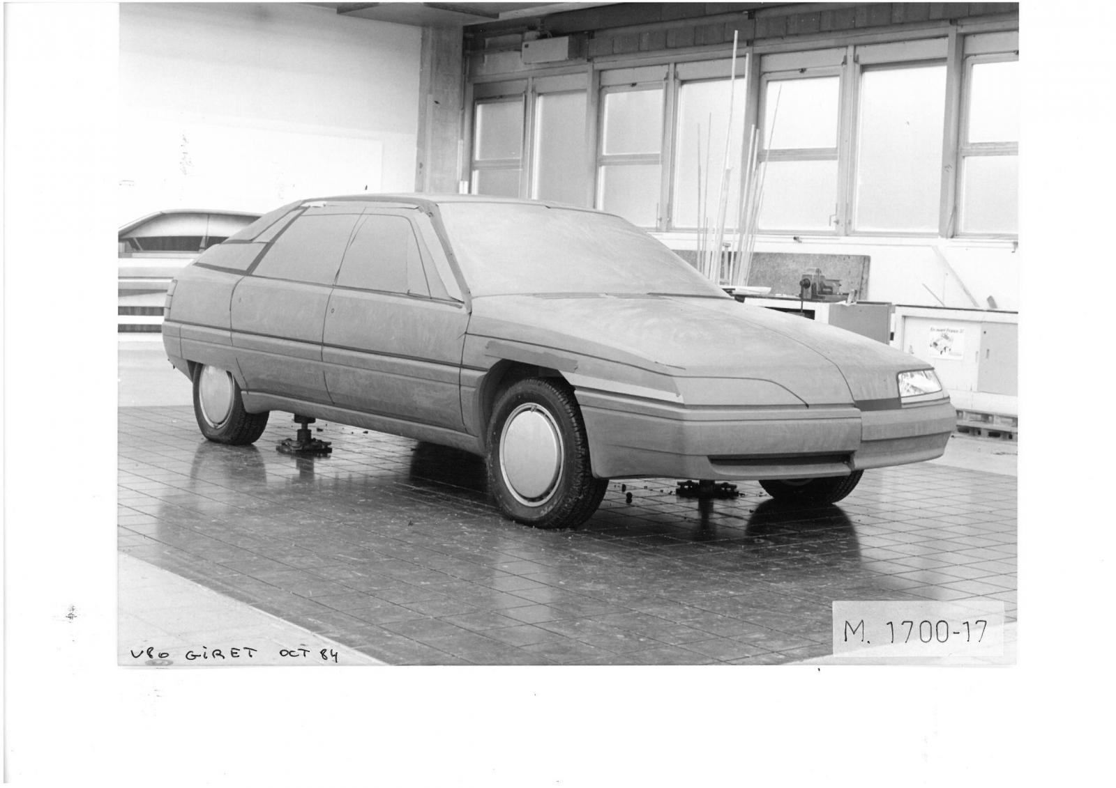 V80 Project by GIRET, 1984.