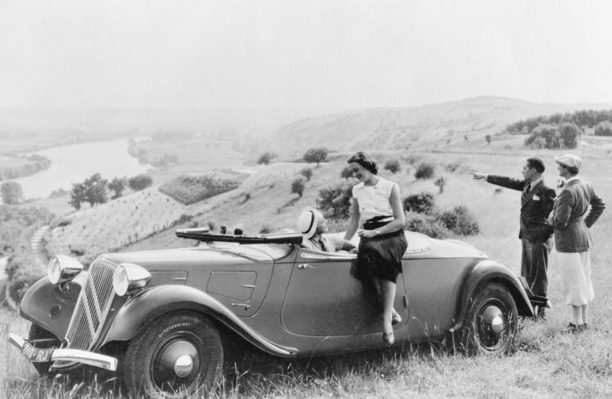 Kabriolet Traction 11B, 1935.