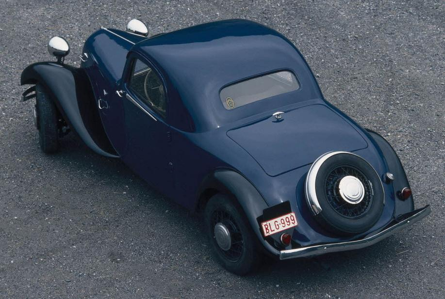 Traction 11B Faux Cabriolet, 1937.