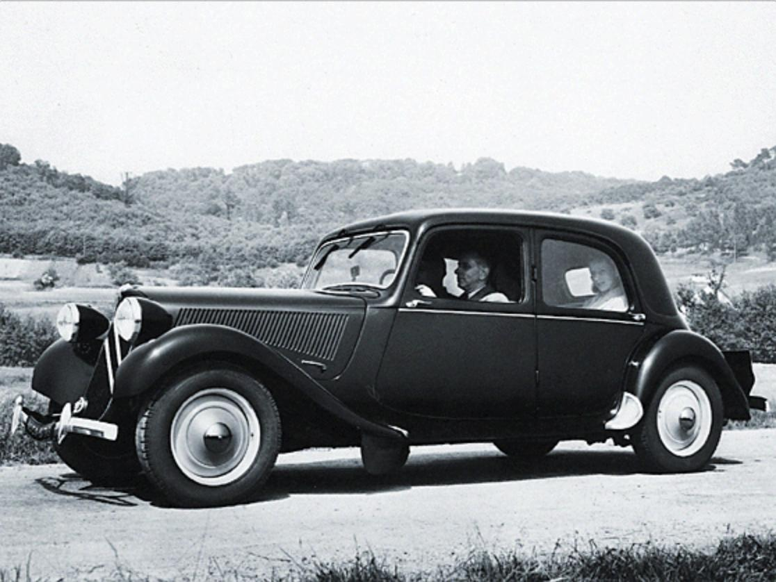 Traction 11BL, 1950.