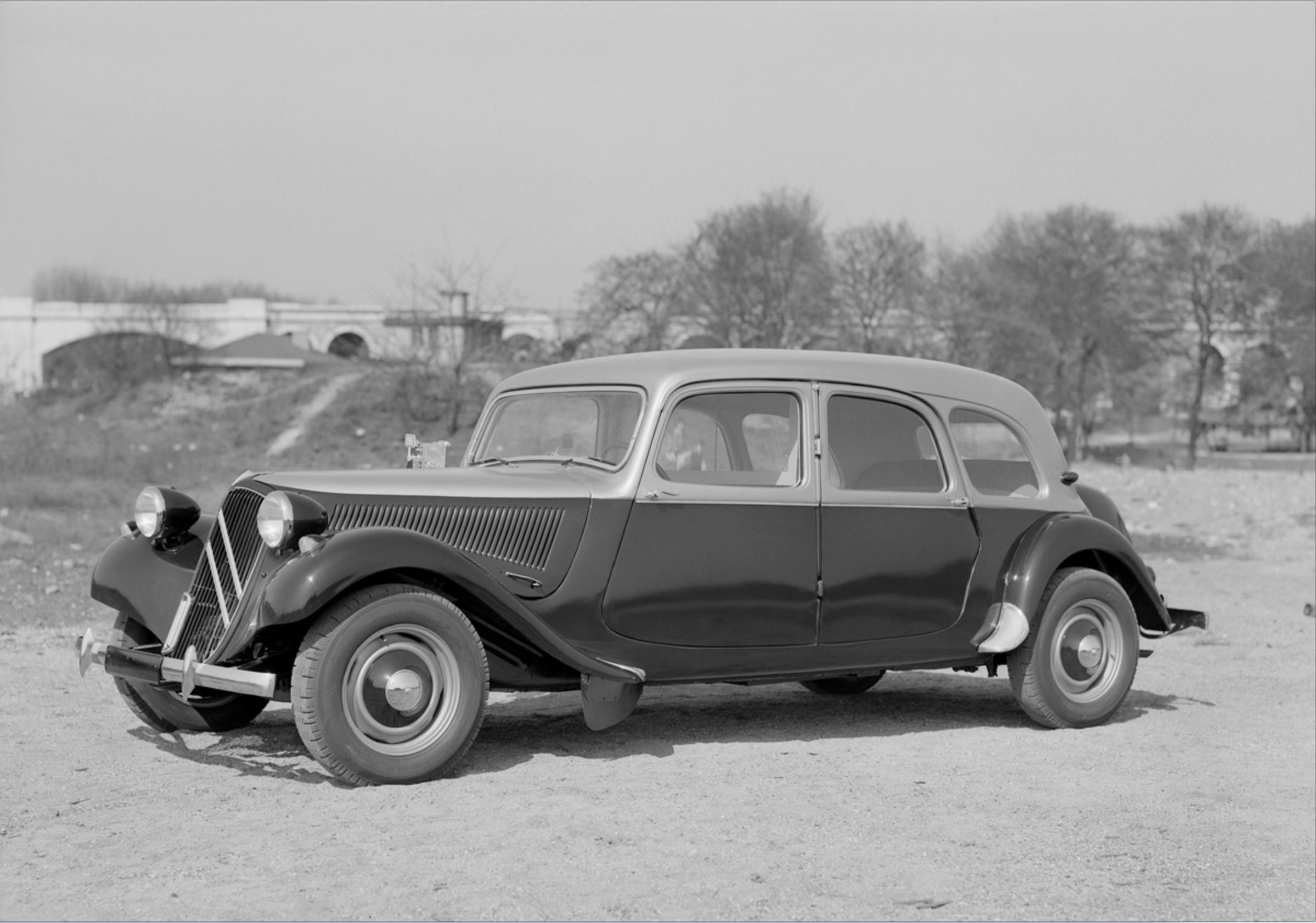 Traction 11D Familiale, 1955.