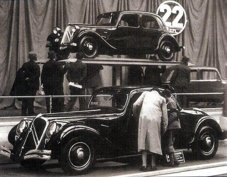 Traction 22B Faux Cabriolet, 1934.