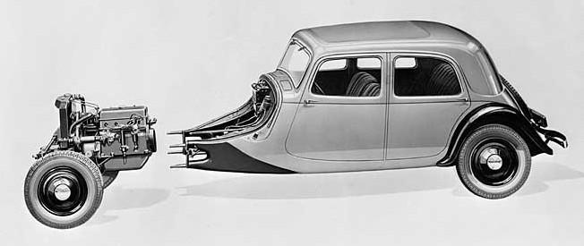 Skica Traction 7A, 1934.