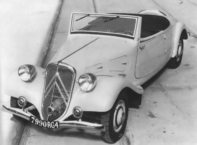 Traction 7B Roadster, 1934.